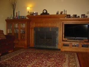 G & V - Fireplace Entertainment Ctr. 1
